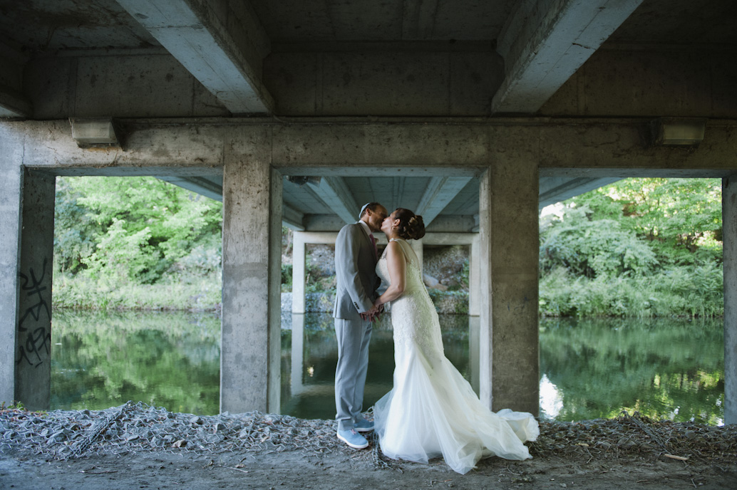 Bride and groom portraits, Montreal: Abelle photography